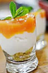 bicchiere dolce macca meda