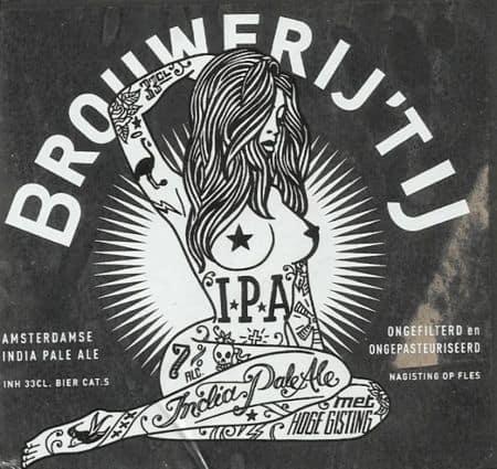 IPA del birrificio Brouwerij 't IJ