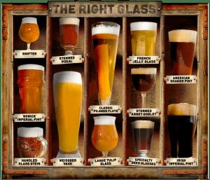 bicchiere corretto usa
