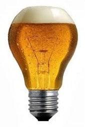 lampadina birra