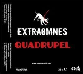 Extraomnes Quadrupel etichetta