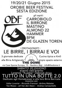 Orobie Beer Festival - Locandina