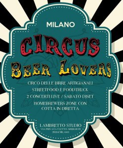 Circus Beer Lovers Logo