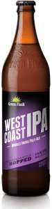 Green Flash west coast ipa bottiglia