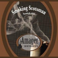 Smoking Scotsman etichetta