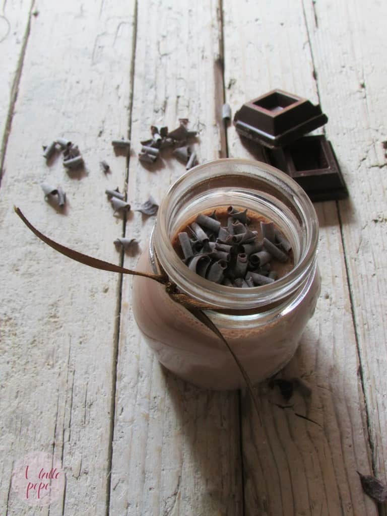 panna cotta cioccolato