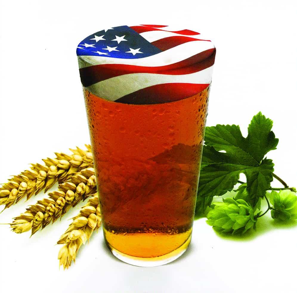 bicchiere bandiera