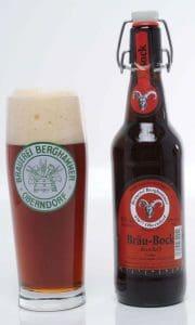 Berghammer Bock - bicchiere e bottiglia