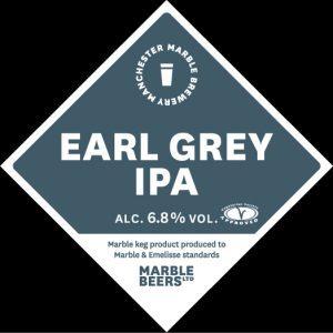 Earl Grey Marble - etichetta