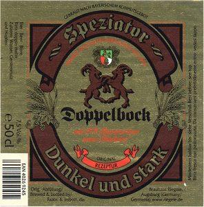 Riegele-Speziator etichetta 2