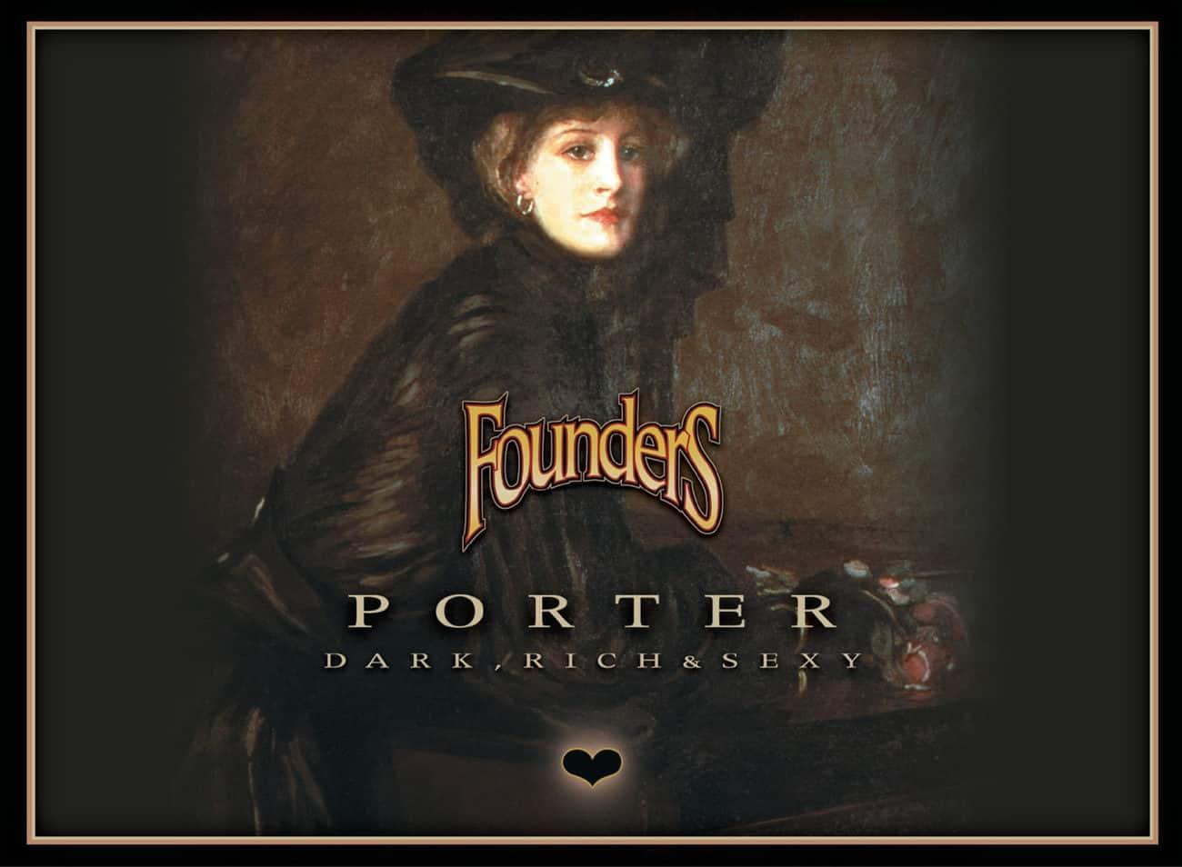 Founders Porter etichetta