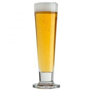 Pils tapared glass