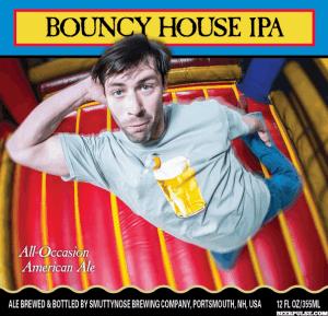 Bouncy House etichetta