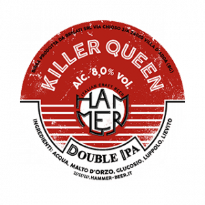 Killer Queen etichetta