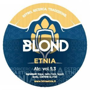 ETNIA Blond targhetta