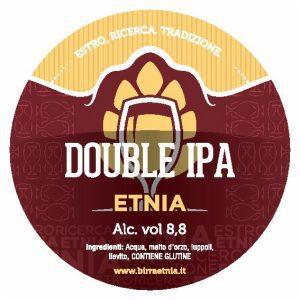 ETNIA Double Ipa targhetta