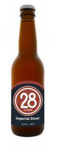 Caulier 28 Imperial Stout bottiglia
