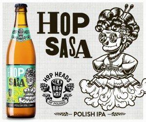 Hop Sasa etichetta