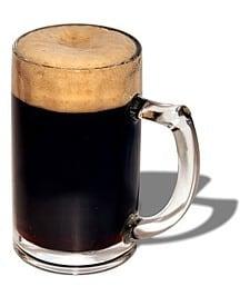 Schwarbier bicchiere