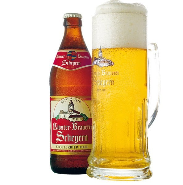 Scheyern Hell bottiglia