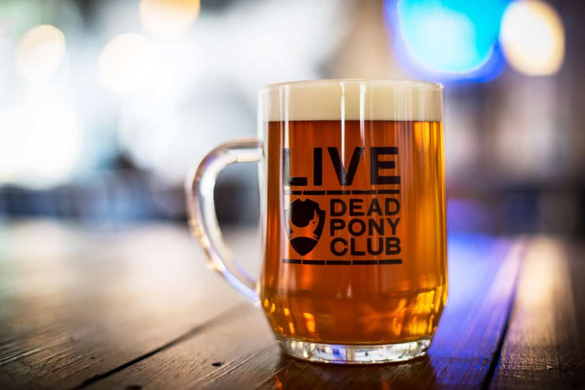 live beer dead pony brew dog