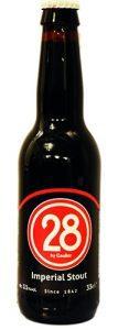 28 Imperial Stout bottiglia