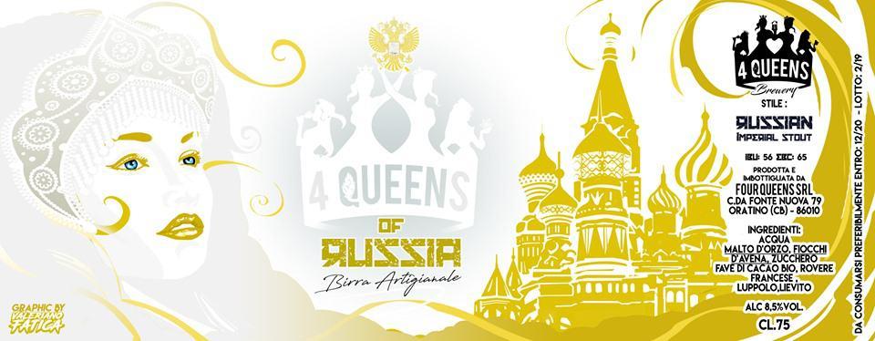 4 queens of russia